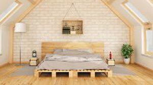 เตียงนอนไม้พาเลท วางกับห้องสไตล์ไหนก็สวย