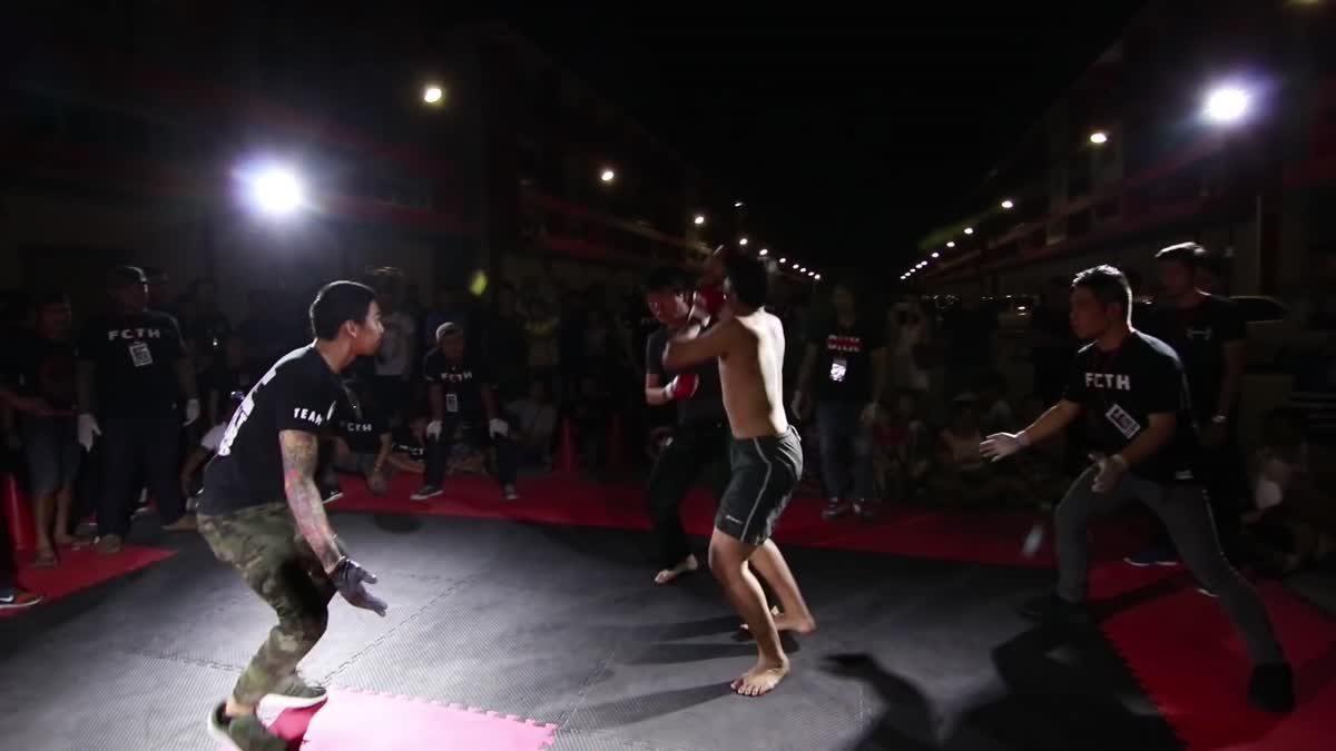 FIGHT CLUB THAILAND มังกรทอง K-Domon x ปู นะจ๊ะ คู่ที่ 174