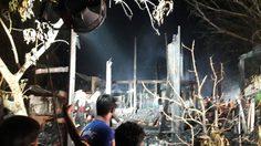 ไฟไหม้ชุมชนตลาดภาชี เผาวอด 14 หลัง ชาวบ้านอพยพวุ่น!