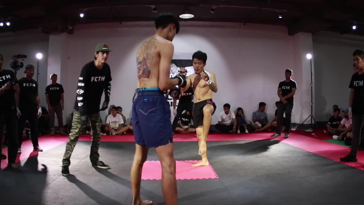 Fight Club Thailand 2017 โต้ง ผัดไท x แจ็คสด คู่ที่ 215