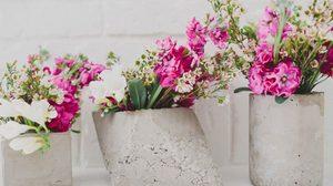D.I.Y. วิธีทำ แจกันดอกไม้ จากปูน ดิบแต่ก็สวยมีสไตล์