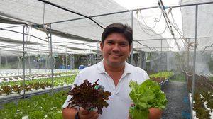 ยอมทิ้งเงินเดือนหลักแสน หันปลูกผัก 'ไฮโดรโปนิกส์' รายได้ครึ่งล้านต่อเดือน!!