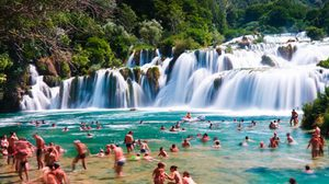 สแกรดินสกีบัค น้ำตกสุดสวยในยุโรป, โครเอเซีย