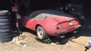 Ferrari Daytona แอบจอดตายอยู่ในโรงเก็บของแห่งนี้มานานกว่า 40 ปี