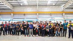 H SEM Motor เปิดสำนักงานใหญ่ต้อนรับนักศึกษาเข้าดูงานด้านอุตสาหกรรมยานยนต์