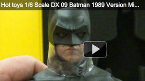 คลิปแกะกล่องโชว์ Hottoys Dx 09 Batman: 1/6th มาแล้ว!!