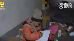 โซเชียลเดือด ! เด็กกำพร้า 7 ขวบ ทำงานรับส่งพัสดุหาเลี้ยงตัวเอง