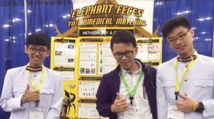 เด็กไทยเจ๋ง! คว้าเหรียญทอง โครงการวิทยาศาสตร์ ระดับนานาชาติ ISWEEEP มาครองสำเร็จ