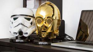 ลำโพงหัวสตาร์วอร์สุดชิค C-3PO BLUETOOTH SPEAKER