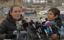 """""""แองเจลิน่า โจลี่"""" เยือนค่ายผู้ลี้ภัยในเลบานอน"""