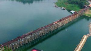 ประมวลภาพ งานเปิดสะพานมอญสุดยิ่งใหญ่ ที่สังขละบุรี
