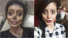 ทำไปได้! สาววัยรุ่นอิหร่าน ไม่ได้โมหน้าเหมือนโจลี่ แค่ใช้โฟโต้ชอป