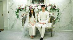 สุดปลื้ม! เจ้าหญิงอามีนาห์ แห่งรัฐยะโฮร์ เข้าพิธีเสกสมรส กับนายแบบชาวดัตช์