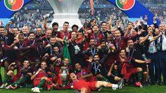ประมวลภาพ โปรตุเกส ซัดต่อเวลาคว่ำ ฝรั่งเศส ฉลองแชมป์ ยูโร สมัยแรก!!