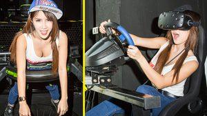 น้องฟิล์ม RSC พาไปตะลุยแดนเกม VR ที่มีอุปกรณ์เล่นเกมแบบใหม่ครบครัน