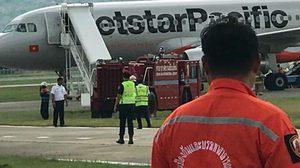 เครื่องบินเวียดนามขอจอดฉุกเฉินที่สนามบินเชียงใหม่