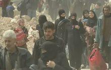 พลเรือนซีเรียเริ่มอพยพออกจากเขตกูตาตะวันออก