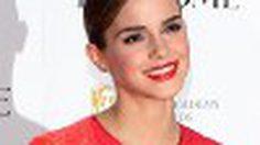 Emma Watson ในเดรสแดง ซีทรูโนบรา บางเฉียบ ทะลุหน้าอกหน้าใจ
