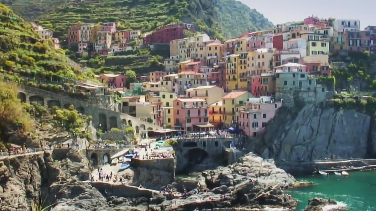 เที่ยว Cinque Terre 5 หมู่บ้านบนผางาม อิตาลี