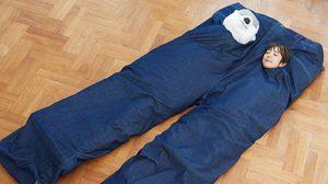 กางเกงไซส์บิ๊กบึ้ม! ถุงนอนลายกางเกงยีนส์ ไอเดียจากญี่ปุ่น