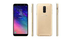 Samsung Galaxy A6+ หลุดตัวเครื่องเต็มๆ มาพร้อมกล้องคู่ หน้าจอ Infinity Display