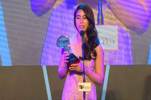 ประกาศรางวัล The Most Top Talk About Actress 2015