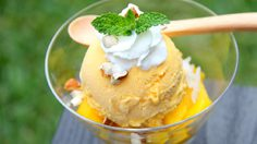 อร่อยง่ายๆ แบบ Healthy กับไอศกรีมมะม่วง