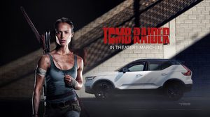 Volvo XC40 อวดโฉม SUV มาดสปอร์ต ในภาพยนตร์ Tomb Raider