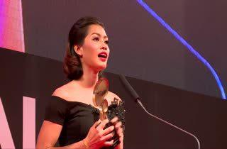 อัจฉราพร คงยศ นักวอลเลย์บอล รับรางวัล Top Talk About Sportswoman
