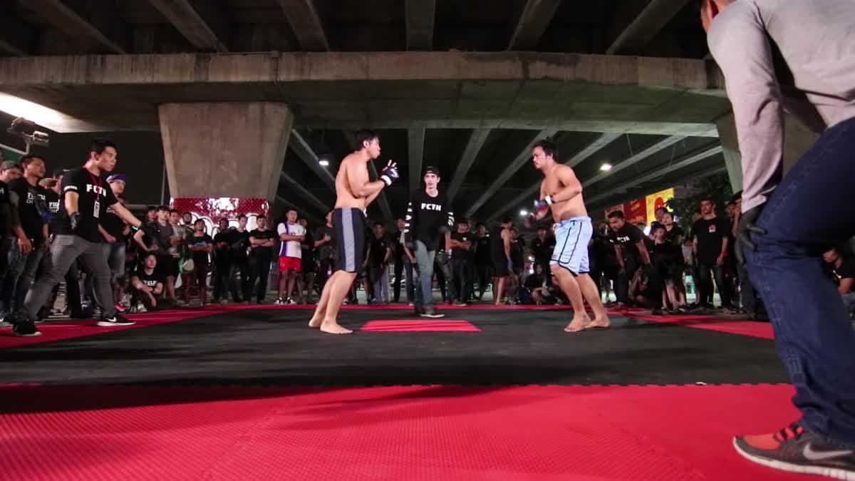 Fight Club Thailand ข้างถนนไว้อาลัย หนึง่ เพชรเกษม x ซูกัส ดินแดง คู่ที่ 128