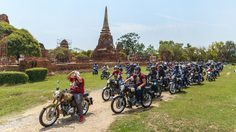 สาวก Royal Enfield กว่า 400 ชีวิตทั่วประเทศไทย ร่วมกิจกรรม 'One Ride 2018'