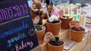 'เค้กกระถาง' จุดขายที่แตกต่าง ของ 'flowerpot cafe' คาเฟ่สุดชิคสไตล์ธรรมชาติ