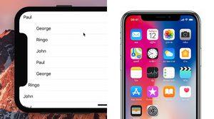 iPhone X ดีไซน์หน้าจอแหว่งด้านบน ไร้ปัญหาในการใช้งานจริง