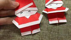 วิธีพับกระดาษ ตัวซานตาคลอส ง่ายๆ แต่น่ารักเว่อร์!
