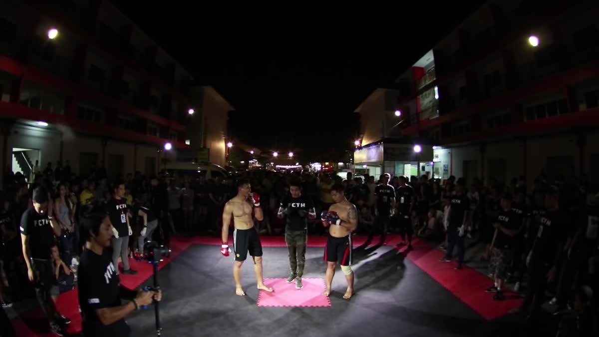 FIGHT CLUB THAILAND มังกรทอง กล้า ค้อนปอนด์ x โจ้ วุฒากาศ 156