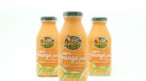 ใหม่!! น้ำส้มเขียวหวานผสมเกล็ดส้ม 100% จาก Cafe Amazon
