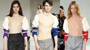 ใจกล้าไหมถามใจเธอดู! เสื้อสเวตเตอร์ Calvin Klein แนบเนื้อซีทรู โชว์จุกเบาๆ