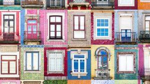 ภาพถ่ายหน้าต่างสุดชิค จากเมืองในโปรตุเกสและอิตาลี