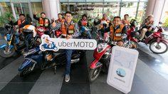 Uber เปิดตัว uberMOTO กดเรียกวินมอเตอร์ไซค์ได้ง่ายๆ ผ่านแอพ