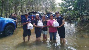 ผู้จัดจำหน่าย เชฟโรเลต ตรังและหาดใหญ่ ดำเนินโครงการช่วยเหลือสังคม