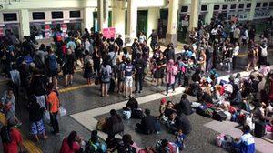 ร.ฟ.ท. คาด วันนี้ประชาชนเดินทางแน่นทั่วไทย แตะ 110,000 คน