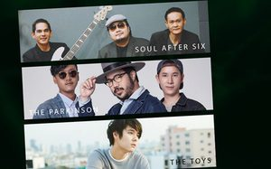 Soul After Six, The Parkinson, The TOYS เตรียมรวมพล