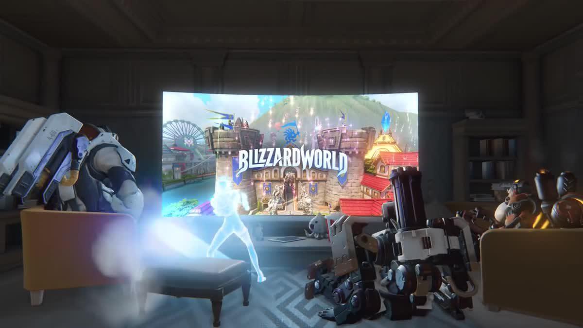 Overwatch แมพใหม่ Welcome to Blizzard World เร็วๆ นี้