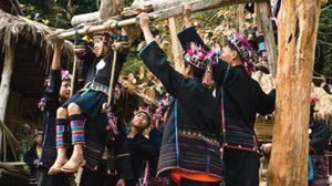 ประเพณีโล้ชิงช้าชาวไทยภูเขาเผ่าอาข่า จังหวัดเชียงราย