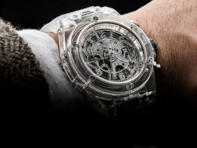 เจ้าของฉายา นาฬิกาล่องหน HUBLOT BIG BANG UNICO SAPPHIRE