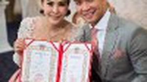 สนุกสนานชื่นมื่น! งานแต่งหนุ่ม คงกระพัน –  อุ้ม ปาณิศา