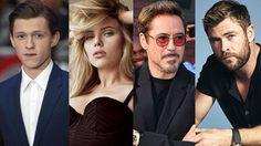อึ้งไปสามวิ! เปิดเผยอายุที่แท้จริงของเหล่านักแสดง The Avengers