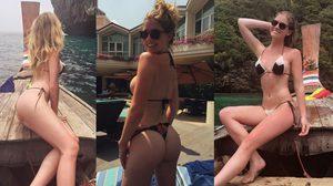 Carly Lauren นางแบบดัง Playboy บุกเยือนทะเลไทย อวดหุ่นสวย