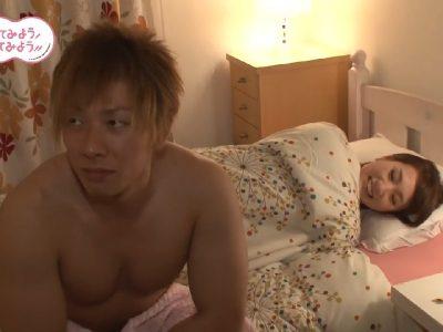 ชิมิเคนลองถุงยาง โปรโมตคู่กับ Michiru Morisaki จากบริษัทผลิตเซ็กส์ทอยสุดสยิว