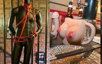 ร้านอาหารธีมเซ็กส์ แบบ S&M ลูบคลำนม+ก้นสาวเสิร์ฟได้ตามสบาย